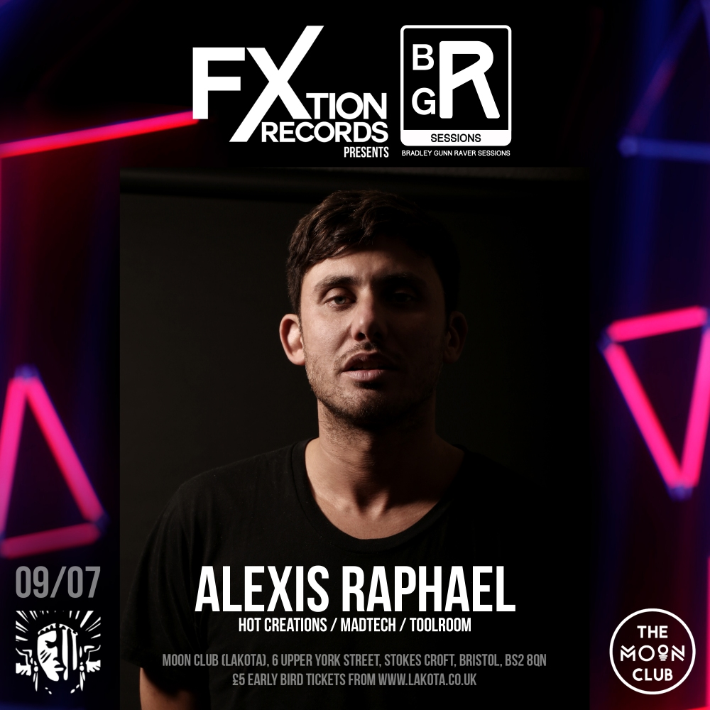 FXtion Records Event Artist Artwork Alexis Raphael