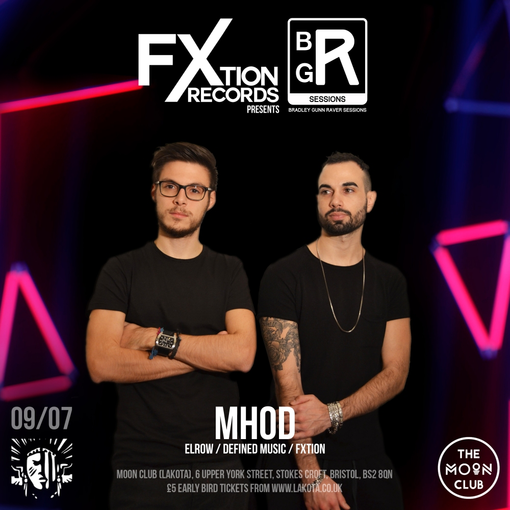 FXtion Records Event Artist Artwork Mhod