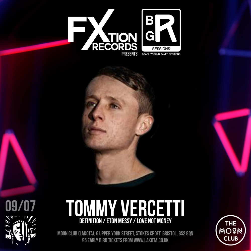 FXtion Records Event Artist Artwork Tommy Vercetti
